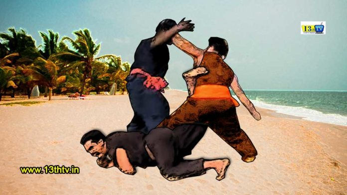 Kalaripayattu, self defence, Varma Kalai, आत्मरक्षा की कला, कल्लारिपयट्ट, खाली हाथ लड़ने की कला, प्राचीन भारतीय युद्ध कला, भारतीय किकबॉक्सिंग, भारतीय युद्धकला, वरमा कलई